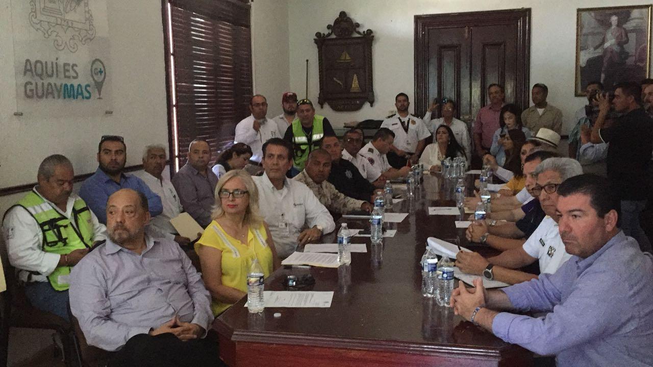 Protección Civil de Guaymas se prepara ante posibles lluvias por presencia  de Bud